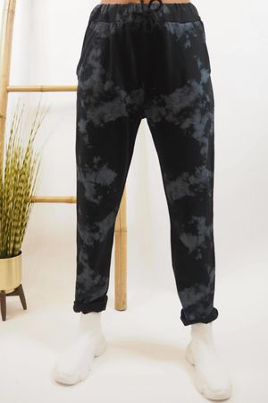 The Inky Joggers Black