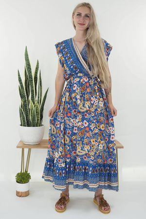 The Irina Dress Cobalt