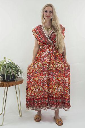 The Irina Dress Red