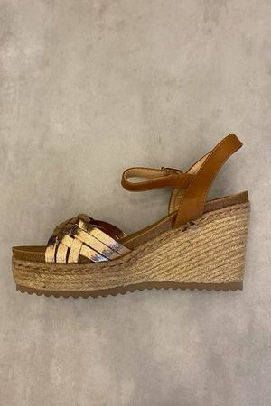 The Ischia Wedges Rose Gold