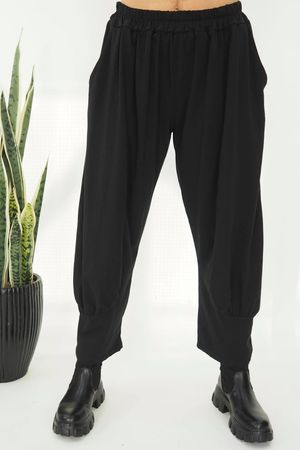 The Jo Jo Quirky Cocoon Pant Black