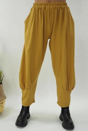 The Jo Jo Quirky Cocoon Pant Ochre