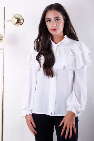 The Karlfeld Blouse Winter White