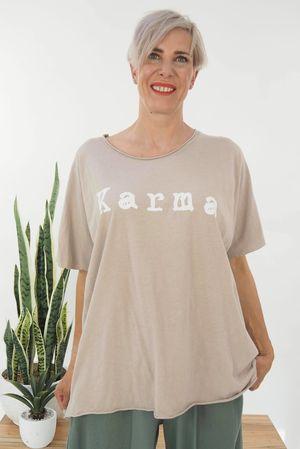 The Karma Easy Tee Stone