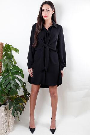 The Knot Dress Black