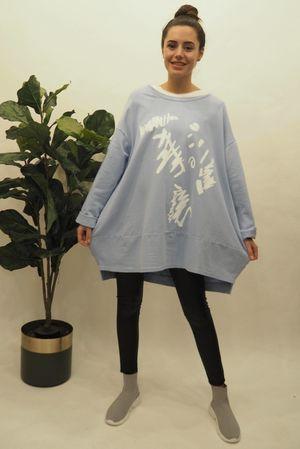 The La Boulle Graffiti Sweatshirt Bluebell