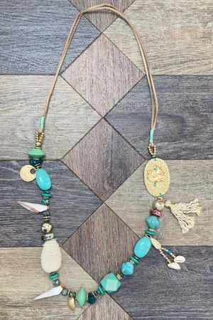 The Lagoona Necklace Turquoise