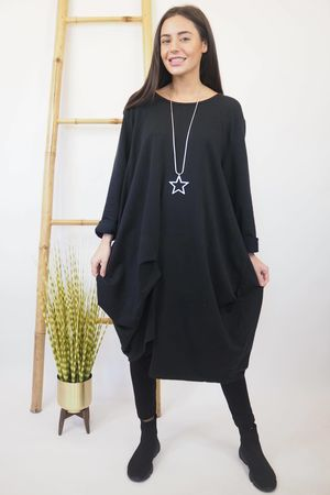 The Le Sac Dress Black