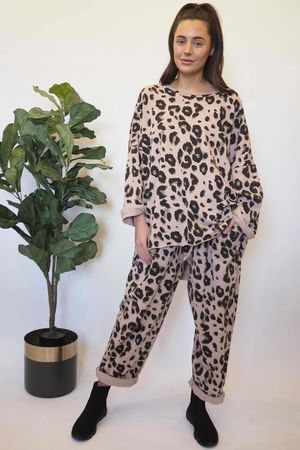 The Leopard Co-Ord Rosewater