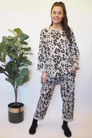 The Leopard Co-Ord Stone