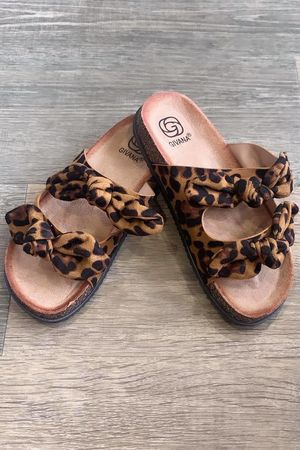 The Leopard Double Knot Slider