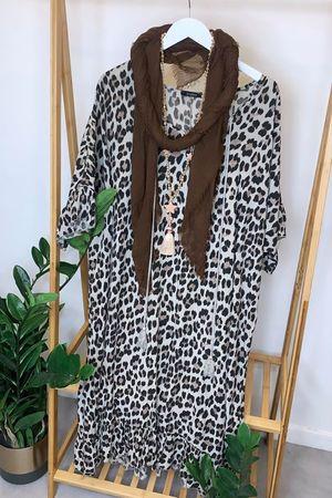 The Leopard Gypsy Dress Mocha