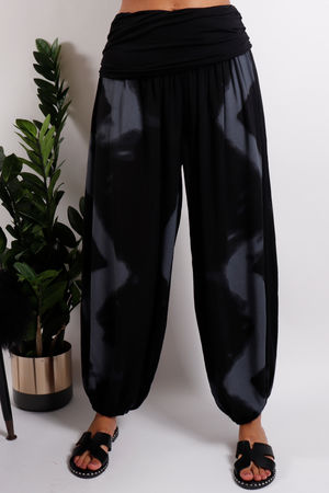 The Lombok Balloon Pant Black