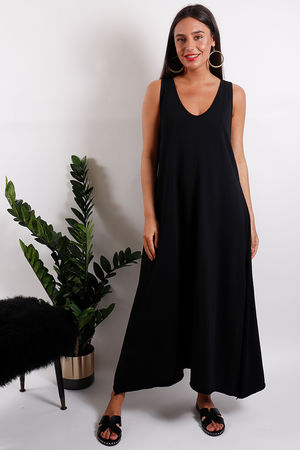 The Lombok Maxi Dress Black