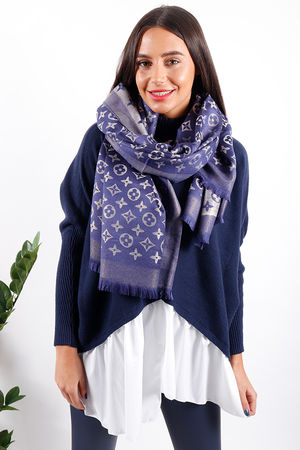 The Louis Scarf Navy