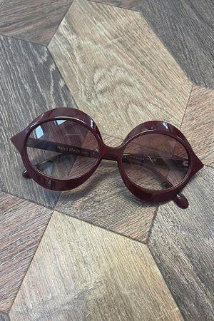 The Lu Lu Sunglasses Maroon