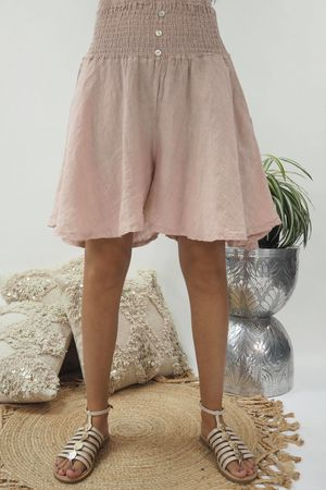 The Lux Linen Shulottes Blush