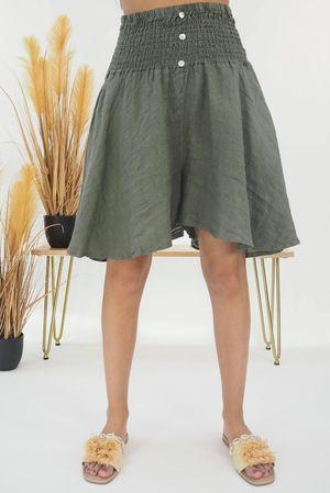 The Lux Linen Shulottes Khaki