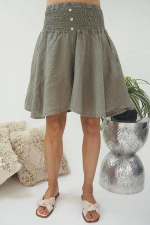 The Lux Linen Shulottes Mocha