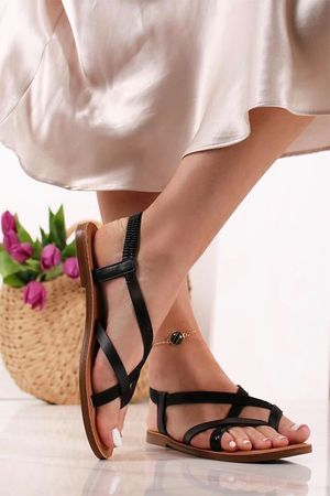 The Majorca Sandal Black