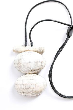 The Maka Necklace Zebra Shell Design