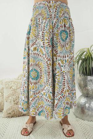 The Mandala Culotte White*