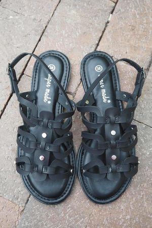 The Menorca Sandal Black