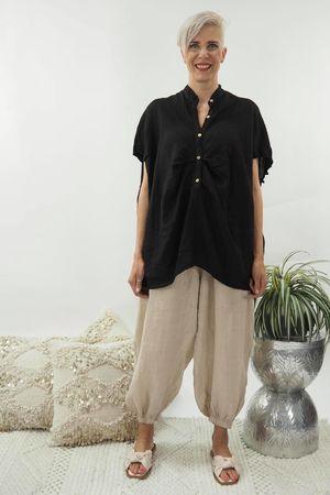 The Mercer Bubble Shirt Black