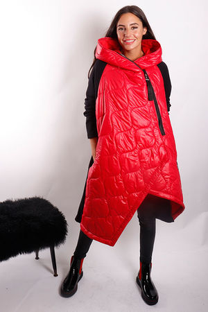 The Mercer Oversized Crossfit Jacket Red
