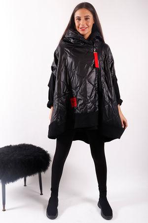 The Mercer Oversized Jacket Black
