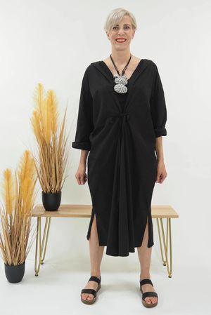 The Mercer Venus Dress Black