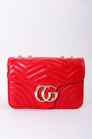 The Michele Bag Red