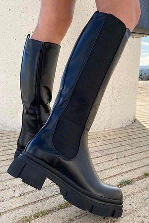 The Midi Tred Boot Black **