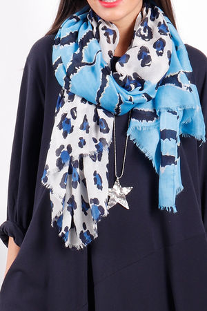 The Mixed Animal Scarf Blues