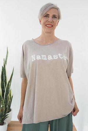 The Namaste Easy Tee Stone