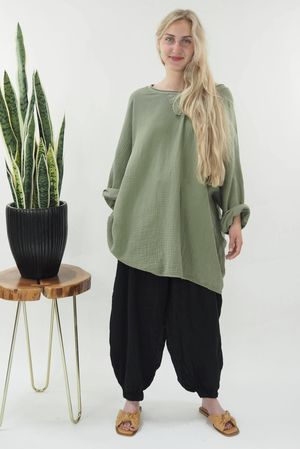 The Negril Easy Slouch Khaki