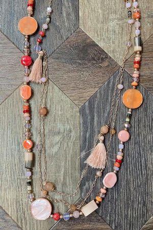 The Ophelia Necklace Blush