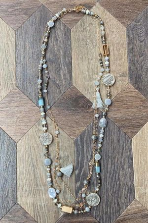 The Ophelia Necklace Grey