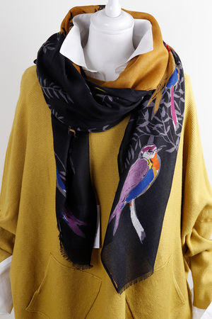 The Paraqueet Scarf