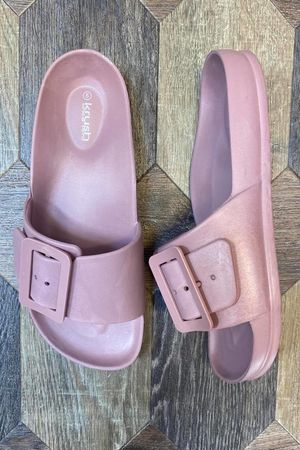 The Pippa Slider Indian Pink