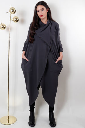 The Pirate Tunic Charcoal