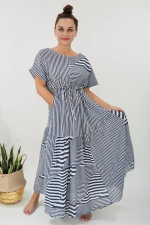 The Provence Dress White