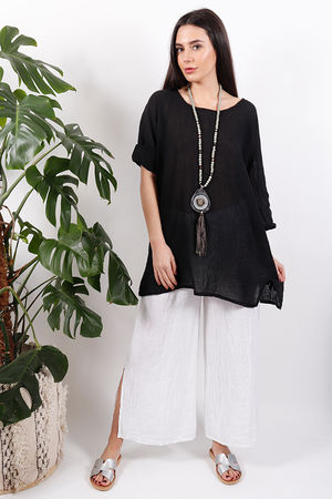 The Pure & Simple Top Black