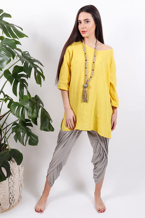 The Pure & Simple Top Yellow