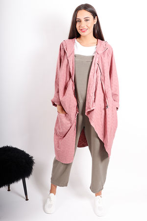 The Quardrophinia Summer Jacket Dusty Rose