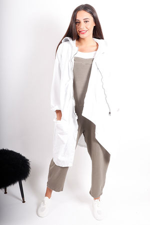 The Quardrophinia Summer Jacket White