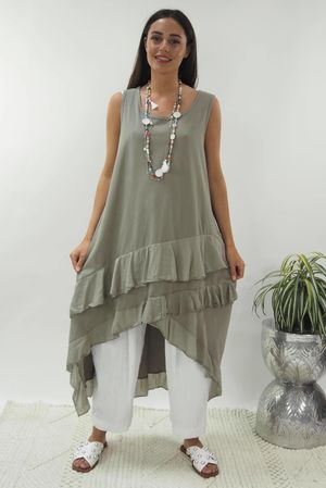 The Ra Ra Dress Mocha
