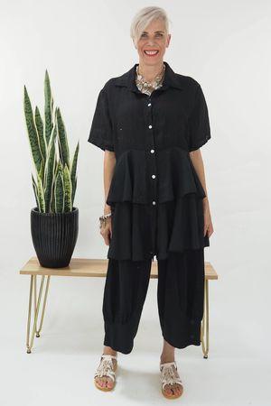 The Ra Ra Shirt Black