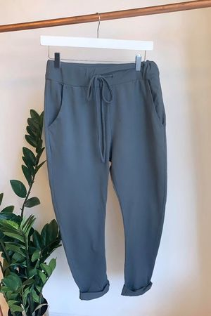 The Relaxed Jersey Jogger Graphite