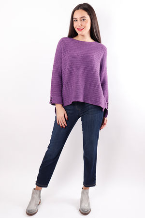The Ribby Box Knit Ultra Violet